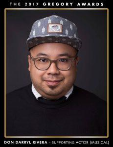 Don Darryl Rivera  2017 Seattle Gregory Awards