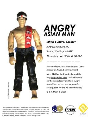 Angry Asian Man Poster page 001