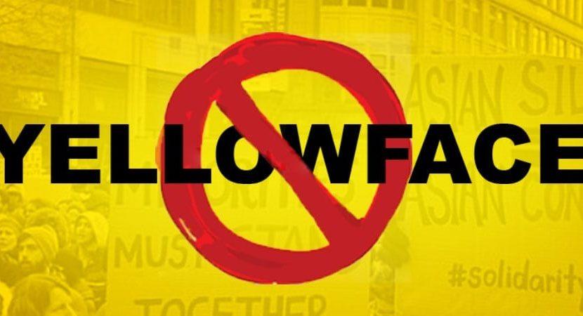 History of Yellowface