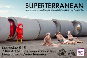 World premiere of SUPERTERRANEAN