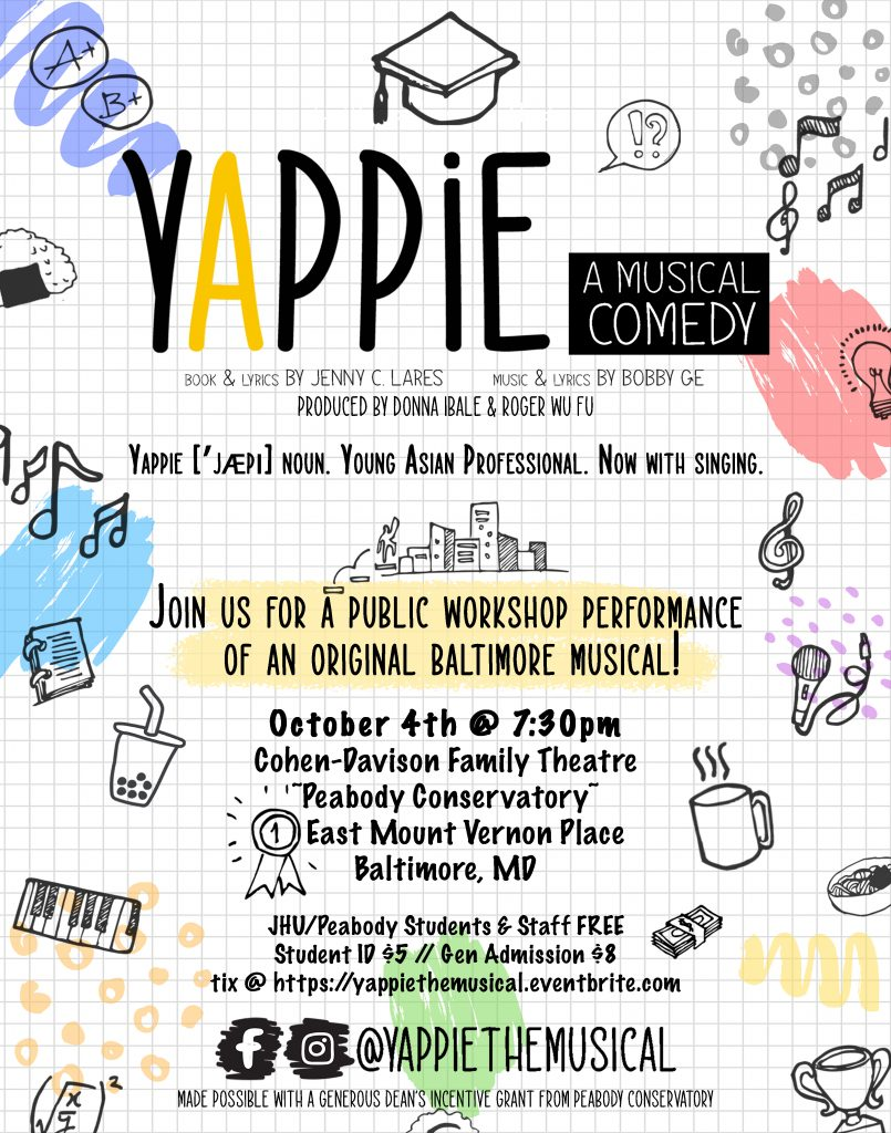 Yappie: A Musical Comedy.