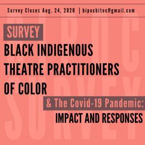 Reminder! Take the Survey!