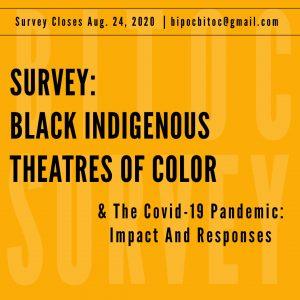 BITOC Theater Orgs COVID Survey 2020