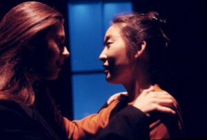 Jessica Hecht and Sandra Oh
