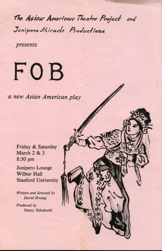 F. O. B. 001 More Asian American Plays